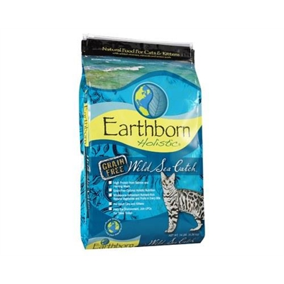 Earthborn Holistic Grain Free Wild Sea Catch Feline 6.3kg